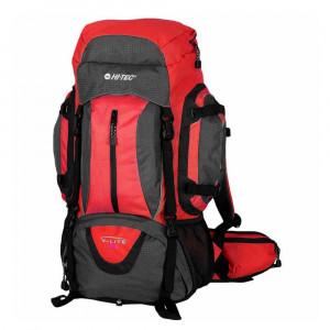 Backpack HI-TEC Aimar 65l, Red/Dark grey