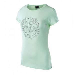 Womens T-Shirt HI-TEC Lady Anemone honeydew melange