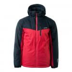 Mens winter jacket HI-TEC Brener, Red