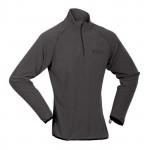 Womens fleece polo-neck sweater HI-TEC Induma Wos, Black
