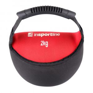 Neoprene dumbbell inSPORTline Bell-bag 2 kg
