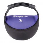 Neoprene dumbbell  inSPORTline Bell-bag 5 kg
