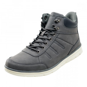 Mens outdoor boots IGUANA Iraz Mid, Grey