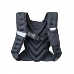 Weighted Vest inSPORTline Klaper 5kg, Black