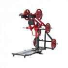 Standing Squat Machine Steelflex Plateload Line PLSS - Black-Red