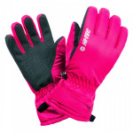 Womens winter gloves HI-TEC Lady Galena, Festival Fuchsia