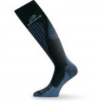 Ski socks LASTING SWH, Gray/Blue