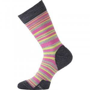 Merino wool socks LASTING WWL, Pink