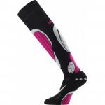 Ski knee socks LASTING SBP, Cyclamen