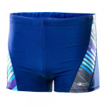 Men's swimsuit boxer AQUAWAVE Frome, Medieval Blue / Stripe Print