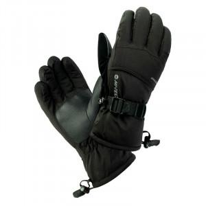 Mens gloves HI-TEC Katan, Black