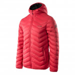 Mens quilted jacket IGUANA Eifel II, Red