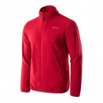 Mens fleece jacket HI-TEC Zoe, Dark red