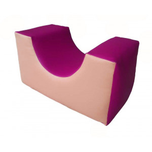Soft module for active play - prism with channel 1200 x 300 mm