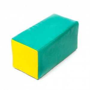 Soft module for active play - parallelepiped 400 x 200 x 200 mm