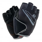 Mens cycling gloves IQ Snag, Black