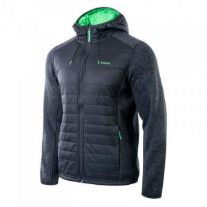 Mens jacket IGUANA Pavo, Black