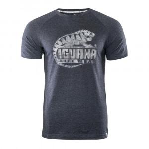 Mens T-Shirt IGUANA Baako, Grey