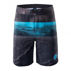 Mens short pants AQUAWAVE Consel, Brown/Turquoise