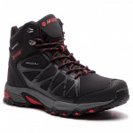 Men's HI-TEC Sakura Mid WP Shoes, Black
