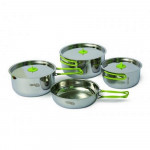 Stainless steel cookware PINGUIN Trio S