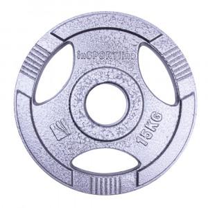 Olympic Cast iron Plate inSPORTline Hamerton 15 kg