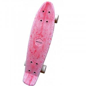 Penny Board SPARTAN Plastic Board 22.5, Pink