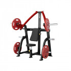 Incline Chest Press Machine Steelflex Plateload Line PSIP - Black-Red