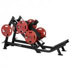 Hack Press Machine Steelflex Plateload Line PLHP - Black-Red