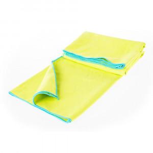 Microfibre towel AQUAWAVE Menomi, Lime