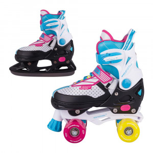 Roller skates 2v1 WORKER Farveo
