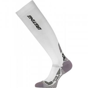 Compression knee socks LASTING RTL, White