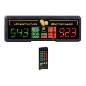 Electronic Billiard Scoreboard and Tennis Table FAVERO 3