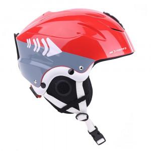 Ski helmet for children MARTES Tirolli Jr, Червена