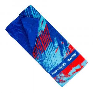 Junior sleeping bag HI-TEC Nino, Blue / Red
