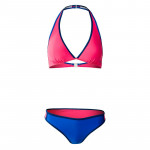 Womens two pieces swimsuit MARTES Lady Festa, Honeysud/Blue