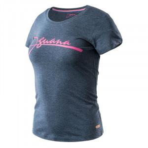 Womens T-shirt IGUANA Nitra W, Blue melange