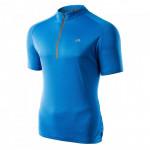 Mens cycling t shirt MARTES Surat, French blue