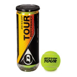 Tennis court balls Dunlop Tour Performent 3-er