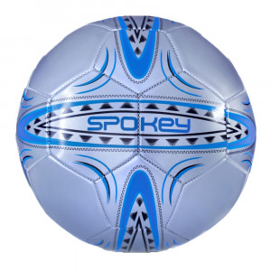 Football ball SPOKEY Ferrum, Silver / Blue