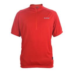 Cycling T-shirt HI-TEC Fabi, Red