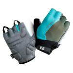 Cycling gloves IQ Raid, Sharkskin/Blue