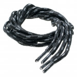 Shoelaces HI-TEC Lace Trip 120cm, Black/Gray