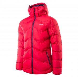 Mens winter jacket HI-TEC Safi, Red