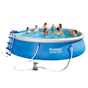 Inflatable pool set with filter pump BESTWAY Fast Set 457