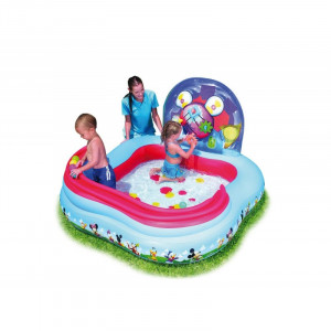 Childrens inflatable pool Bestway Mickey Play Center