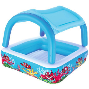 Childrens inflatable pool Bestway Canopy Play