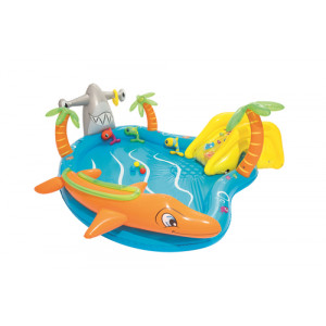 Bestway children's inflatable pool with slide