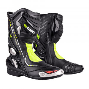 Motorcycle boots W-TEC Beastor Black/Green