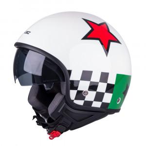 Scooter helmet W-TEC FS-710G Sixty White